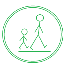 Walk Symbol Green